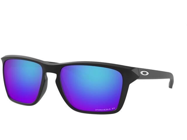 Oakley Sylas Sonnenbrille matte black/prizm sapphire polar